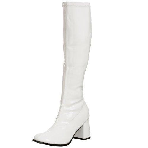 Pleaser Gogo300/w, Damen Stiefel, Weiß, 39 EU