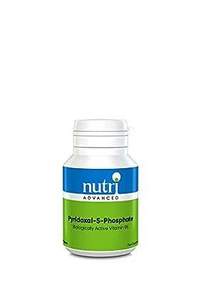 Pyridoxal-5-Phosphate Biologically Active Vitamin B6. 90 Tablets by Nutri