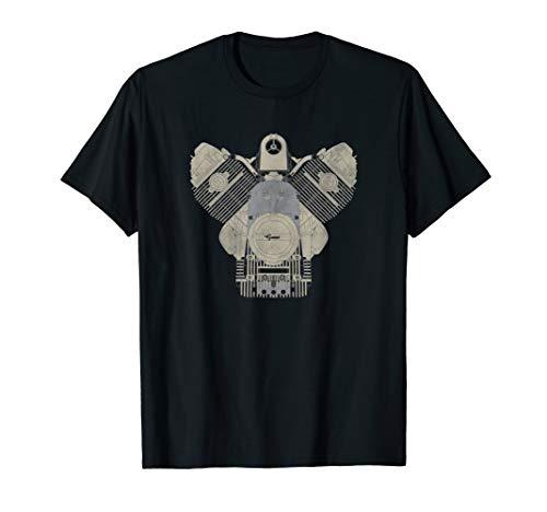 Guzzi Motorrad Motorrad Motor T-Shirt