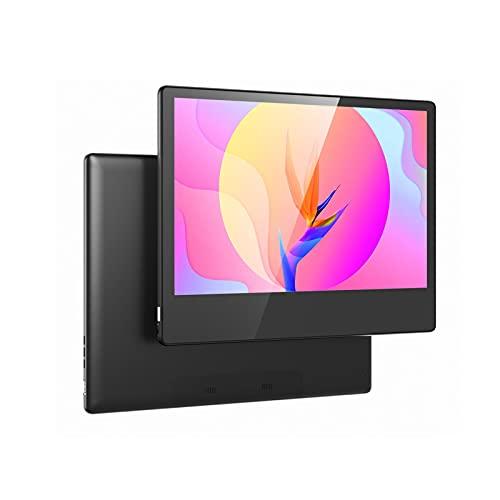 XOYZUU Monitor portátil, actualización de 13,3 pulgadas, 1280 x 800, Full HD, IPS, monitor de ordenador, monitor de juegos, compatible con conmutador/PS4