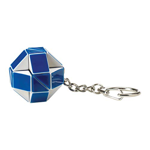 Official Rubik's Snake Keyring. Create a new shaped keyring every day!