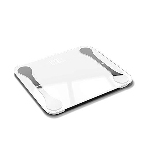 Waagen, APP Bluetooth intelligente Waage Körperfettwaage Männer und Frauen, Gewicht zu verlieren Fette viszerale Fettwaage Muskel-Skelett-Test Gesundheit,B