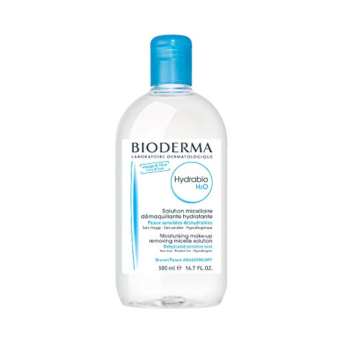 Bioderma - Hydrabio H2O - Micellar Water - Cleansing and Make-Up Removing - for Dehydrated Sensitive Skin - 16.7 fl.oz.