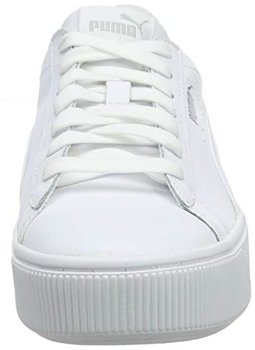 PUMA Vikky Stacked L, Zapatillas Mujer, Blanco White White, 39 EU