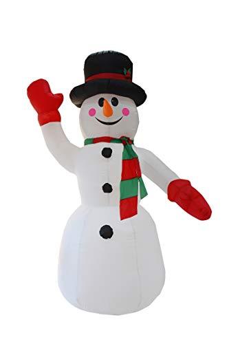 YONII Regalo di Natale Gonfiabile Pupazzo di Neve di Natale...