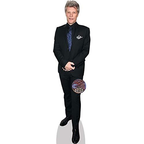 Celebrity Cutouts Jon Bon Jovi (Suit) Pappaufsteller lebensgross