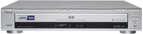 Great Deal! Sony DVP-NC85H/S HDMI/CD Progressive Scan 5-Disc DVD Changer, Silver