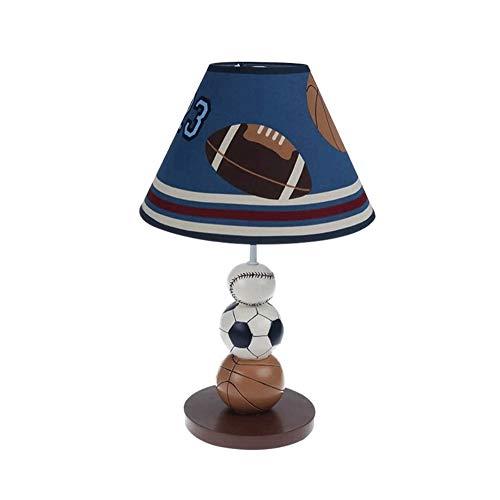 Basketbal Voetbal Model tafellamp, Creative Cartoon inspiratie for Children's Room Geïnspireerd door Children's hand geschilderde olie-absorberende tafellamp, loodvrije verf op waterbasis, E27 Univers