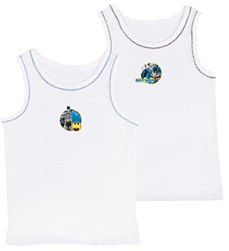 Kids Boys Niños, 2unidades Character ropa interior chalecos de Set Tops talla UK 1–8años