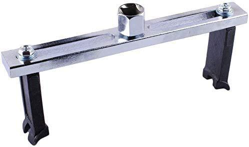 Poweka Llave Inglesa Ajustable de 38mm a 168mm del Módulo para Depósito de Combustible, Herramienta de Extracción de Bomba de Combustible para Reparación de Coches