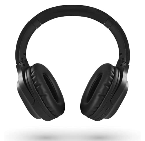 LEICKE Auriculares Bluetooth 5.0 │ Diadema Plegable Headphones Over Ear Inalámbricos Micrófono Integrado Wireless