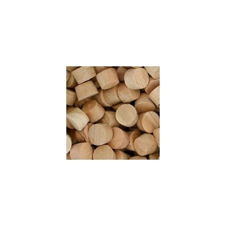 Face Grain WIDGETCO 3//4 Walnut Wood Plugs