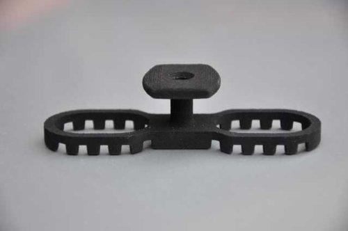 Terraflex c1 noir avec vis 120 pièces (0,62 eUR/unité)