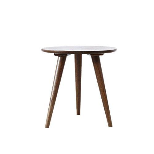 Organisateur d'espace de travail Combinaison de table basse nordique, table de couleur bois chêne, table d'appoint créative ovale en bois massif (Color : B, Size : #1)