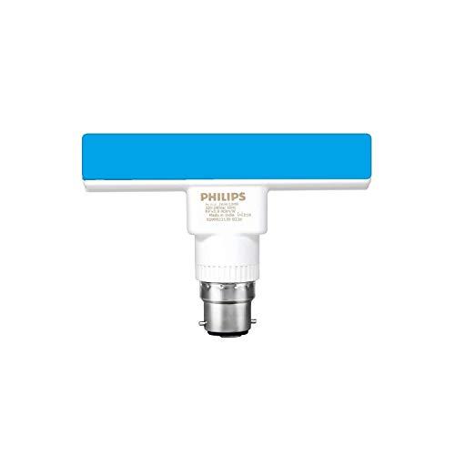 PHILIPS 5W B22 LED Blue Bulb, 1 Piece, (929002317013)
