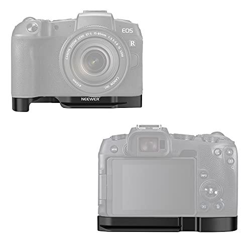 """Neewer Staffa Base per Fotocamera Compatibile con Reflex Digitale Canon EOS RP, con Adattatore Coldshoe di Estensione per Microfoni o Luci & Fori 1/4"""" Base per Vlog YouTube Streaming ecc."""
