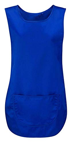 REAL LIFE FASHION LTD Womens Plain Pocket Wappenrok Reiniging Catering Werkkleding Sch rze Damesvest Top