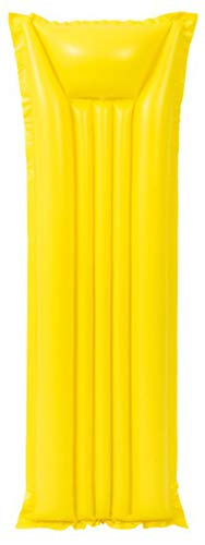 LEMON TREE SL Colchoneta Hinchable para Piscina o Playa. Color Amarillo. 183 * 69CM.