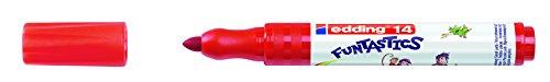 Edding 14Funtastics Fasermaler–parent 3 mm rot