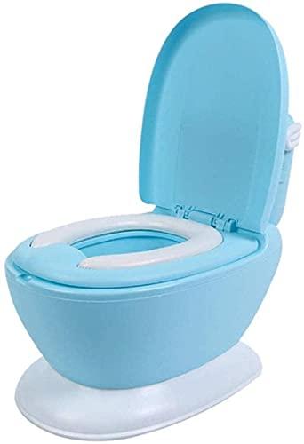 LXNQG Bastador de plástico de Gran tamaño, Juguete para niños para niños para niños para niños, Silla para bebé, Material portátil Material de protección del Medio Ambiente de Aseo (Color: Azul)