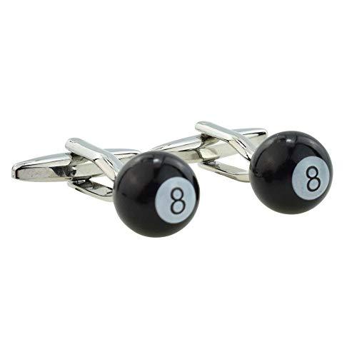 Piscine 8 Ball boutons de manchette psn158