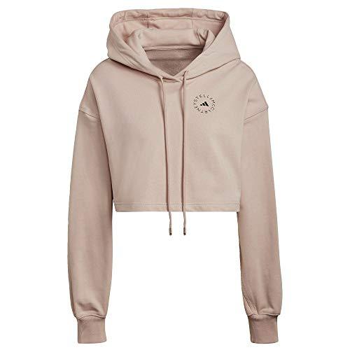 adidas by Stella McCartney FuturePlayground Cropped Hoodie Women's, Pink, Size L