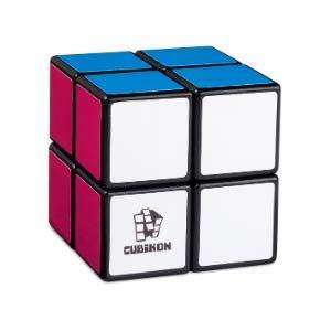 Cubikon Cube 2x2 - Für Anfänger - Kniffliger Zauberwürfel - Rätsel Cube Puzzle