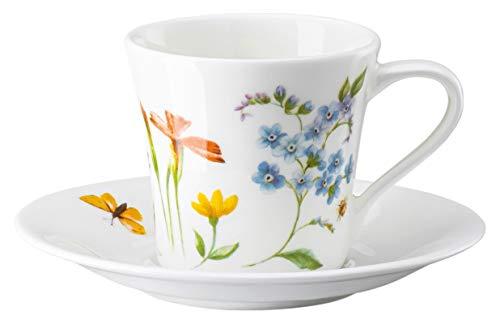 Hutschenreuther 02048-726041-14715 Nora Spring Vibes Espressotasse 2tlg. (1 Obertasse & 1 Untertasse)