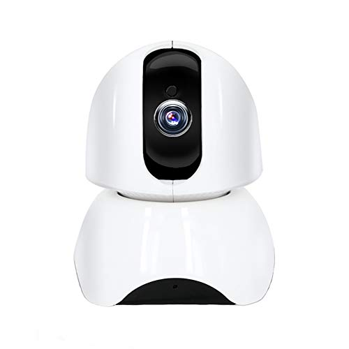 YZY 2019 New Baby Monitor, Home Security-camera-netwerk camera bewaking met bewegingsdetectie 2weg audio Night Vision, wit