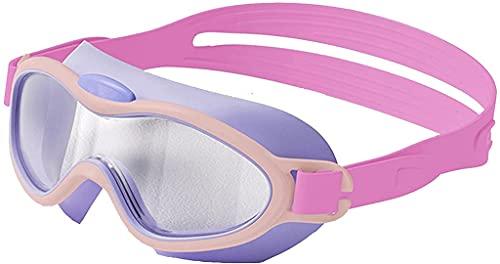 CYANQ Gafas de natación para niños, Gafas de natación sin Fugas Vista Amplia Antivaho Anti-UV para niños y niñas Adolescentes
