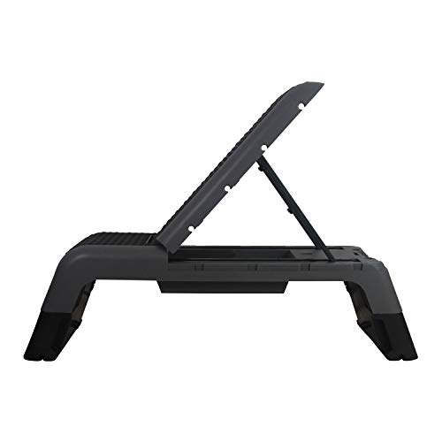 Fitness First Aerobic Step Combo Bench, Black