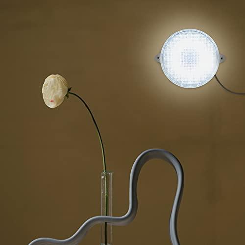 Uonlytech – Lámpara de techo solar con mando a distancia, resistente al agua, LED, lámpara de pared solar para el jardín de casa, cocina