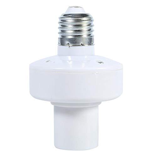 Portalámparas inteligente, portalámparas E27 de tornillo inalámbrico con mando a distancia, interruptor toma de corriente 220 V