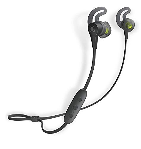 Jaybird X4 Cuffie Bluetooth wireless per sport e corsa, compatibili con smartphone iOS e Android - Black Metallic