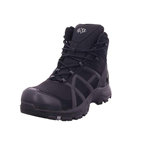 Haix Black Eagle Safety 40 Mid Black/Black, Farbe:schwarz, Schuhgröße:44 (UK 9.5)