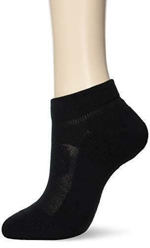 [アツギ] ソックス Crank (クランク) 3Dサポーティソックス 足底パイル アンクル丈(足首あたりの長さ) 綿混 靴下 スポーツ 運動 メンズ GH16092 ブラック 日本 24~26cm (日本サイズM相当)