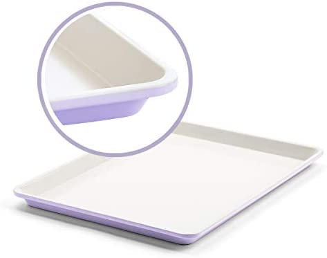 GreenLife Bakeware Healthy Ceramic Nonstick Cookie Sheet 18 x 13 Lavender CC002523 001 product image