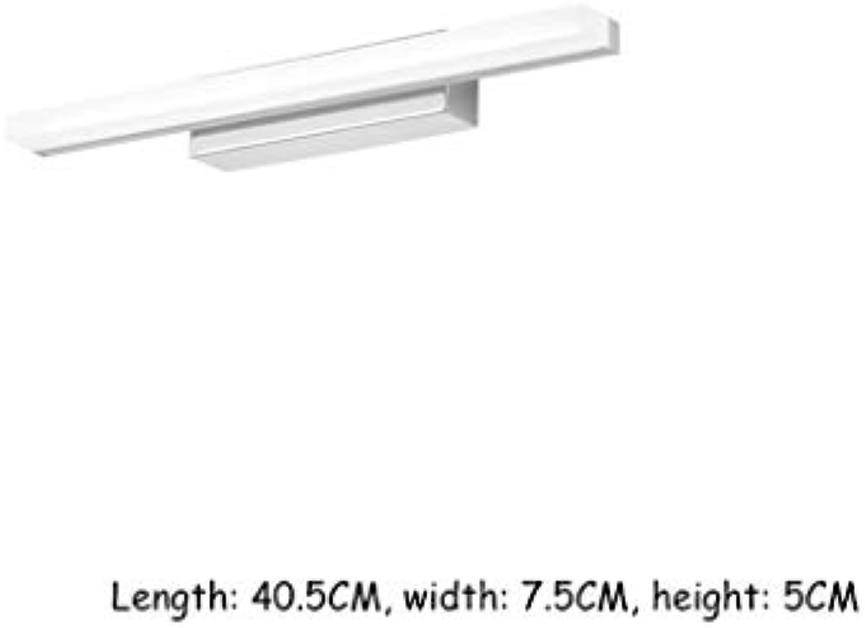 Badezimmerspiegelleuchten, LED-Spiegelscheinwerfer, Wandleuchten, einfach und modern, Spiegelschrankleuchten, LED-Leuchten (Farbe   Warm light-40.5cm)