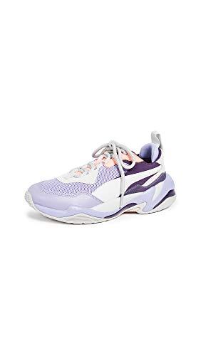PUMA Women's Thunder Fashion Sneakers, Sweet Lavender/Bright Peach, Purple, Grey, 8.5 Medium US