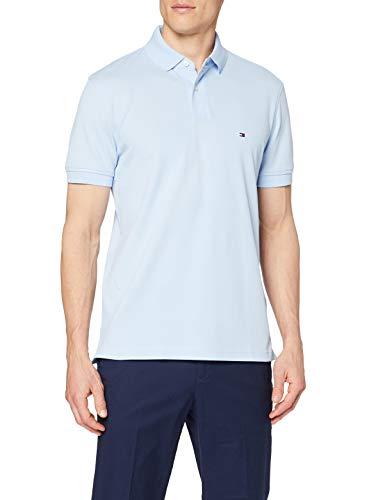 Tommy Hilfiger 1985 Regular Polo, Camisa de polo Hombre, Azul Dulce, M