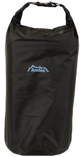 Andes Black Waterproof Kayak Dry Bag Sack Canoeing Camping Sailing Fishing 13.5L