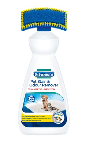 Dr. Beckmann Pet Odour & Stain Remover | Includes applicator Brush (650 ml)