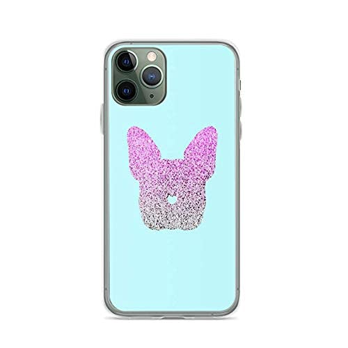Phone Case Compatible with iPhone 12 13 Frenchie 11 French SE 2020/7/8/6 Bulldog Pro Frenchies Max Sticker XR X/Xs Plus Scratch Shock Drop