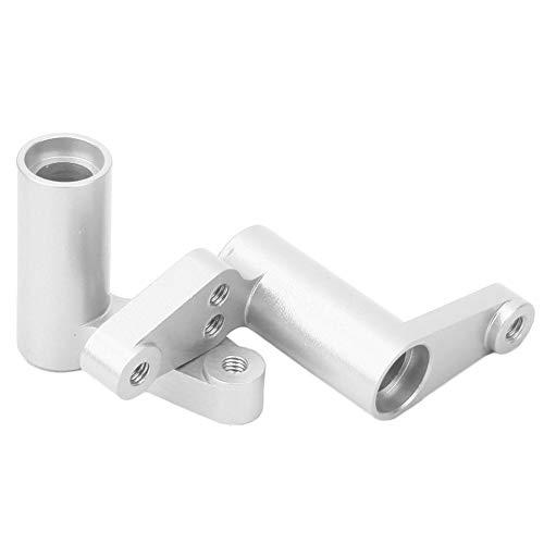 Servo Saver, RC Aluminium Alloy Lenkservo Saver Upgrade Teile passend für HPI RS4 Sport 3 RC Modell( Silber)