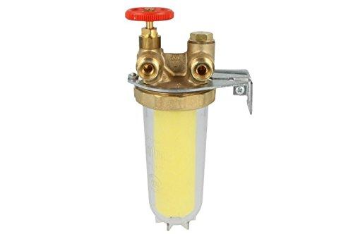Oventrop Heizölfilter Magnum für Zweistrangsystem mit Siku-Einsatz 50-75 µm