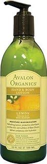 Avalon Organics Hand & Body Lotion Lemon - 12 fl oz