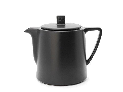 Bredemeijer Teekanne Lund 1,0L, schwarz, Keramik, 12.7 x 19 x 15.7 cm
