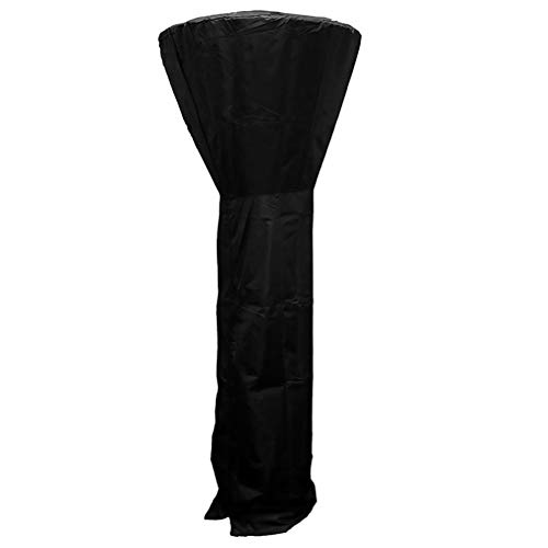 Yardwe Patio Heater Cover Waterproof and Dustproof Oxford Fabric with Zipper for Garden Furniture 240X92cm