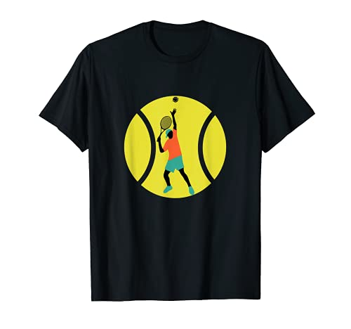 Tennisball Tennis Tennisspieler Tennisschläger Geschenk T-Shirt