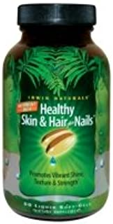 Irwin Naturals Nutrient-Rich Healthy Skin & Hair plus Nails, 60ct (Pack of 2)